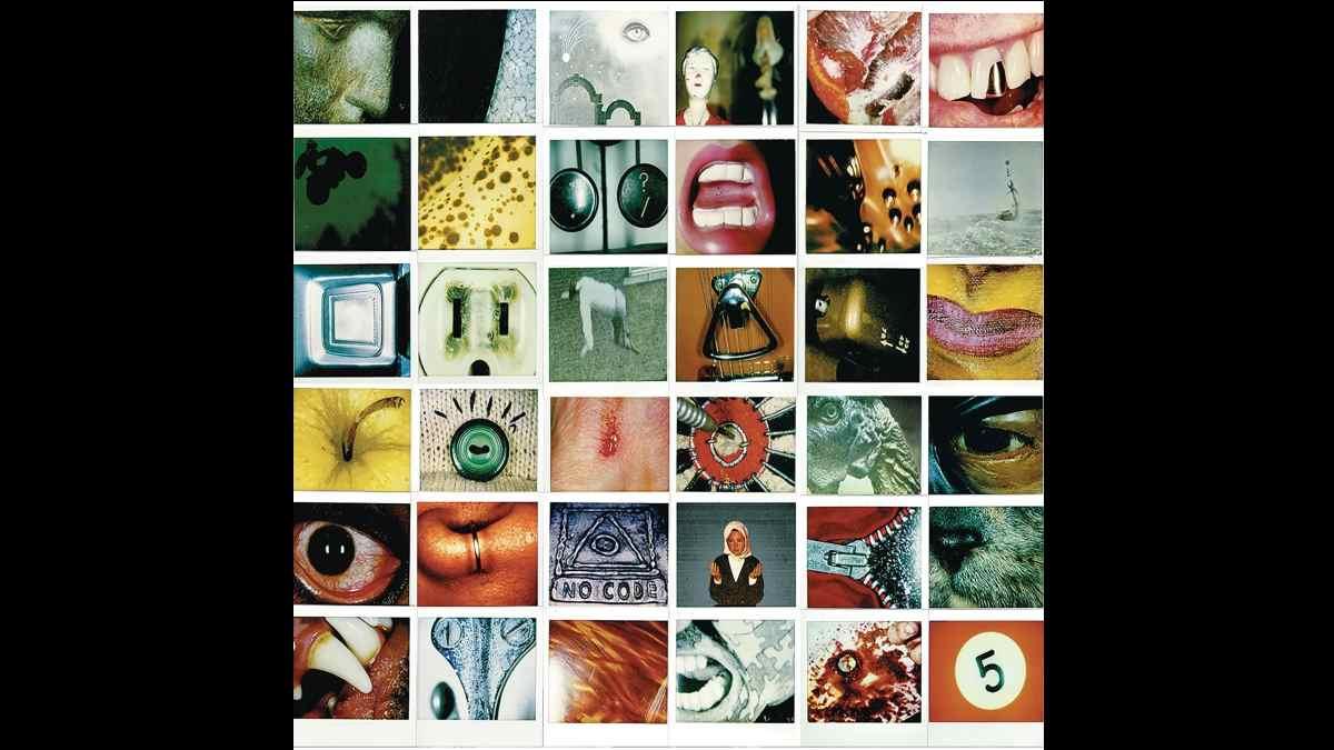 No Code vinyl cover art