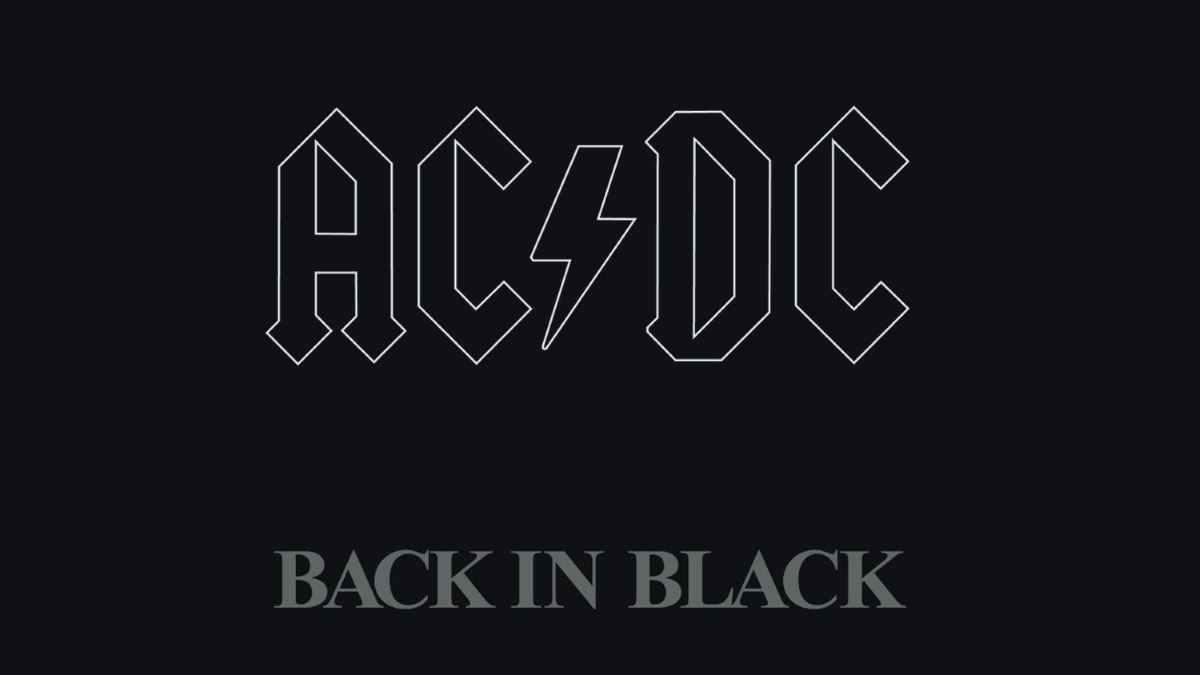 Back In Black album art