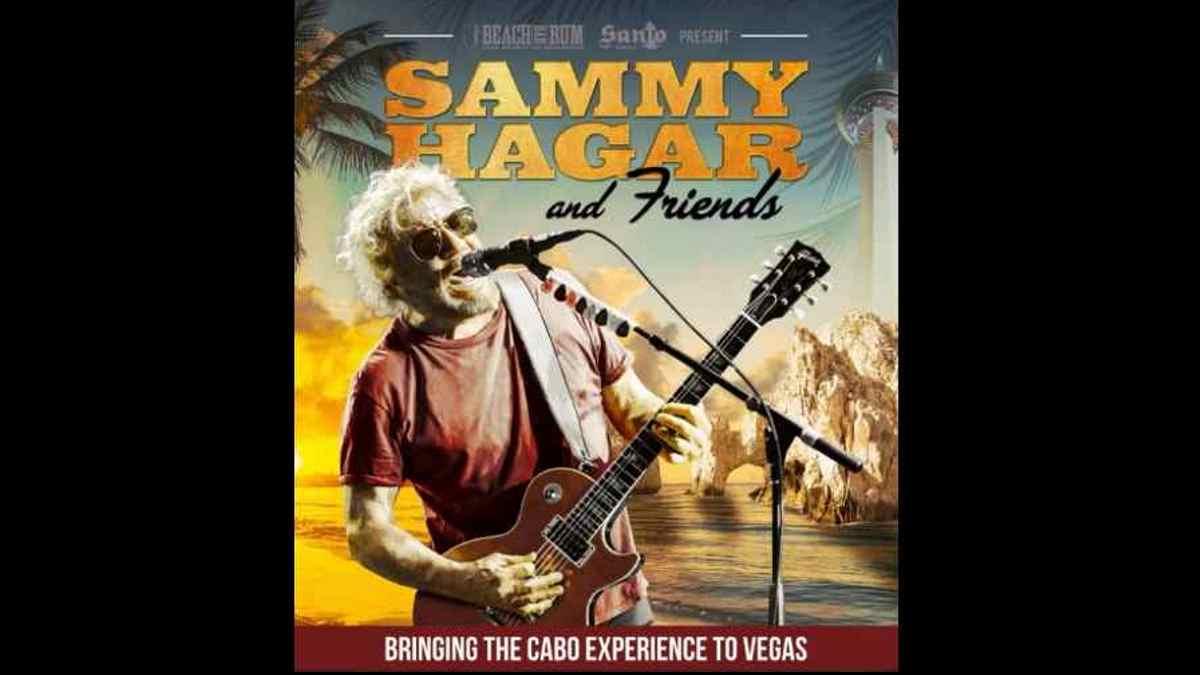 Sammy Hagar event poster