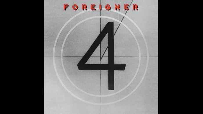Foreigner Album cover art