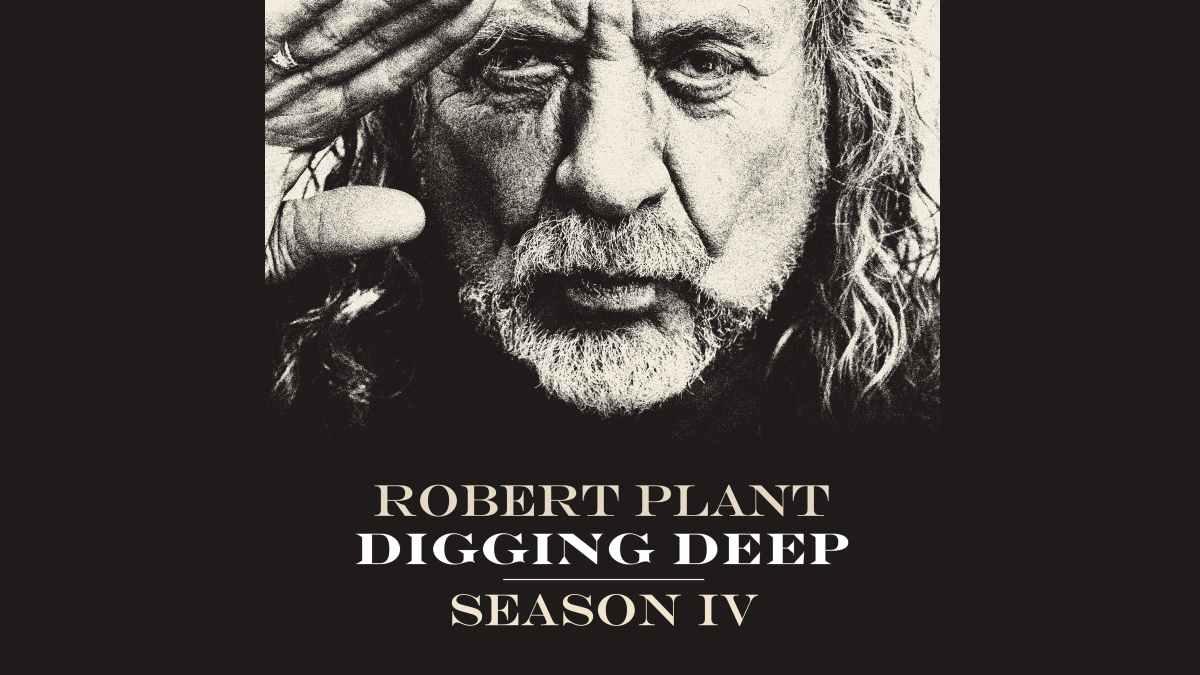 Robert Plant podcast promo