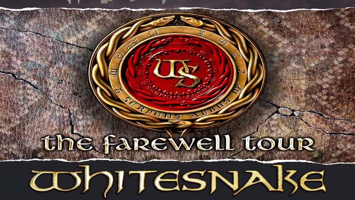 Whitesnake event poster