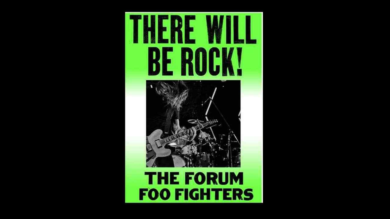 Original Event poster