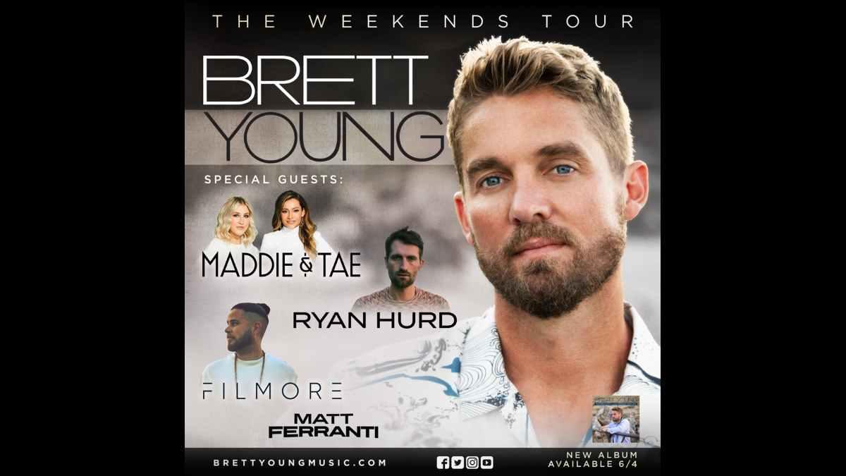 Brett Young tour poster