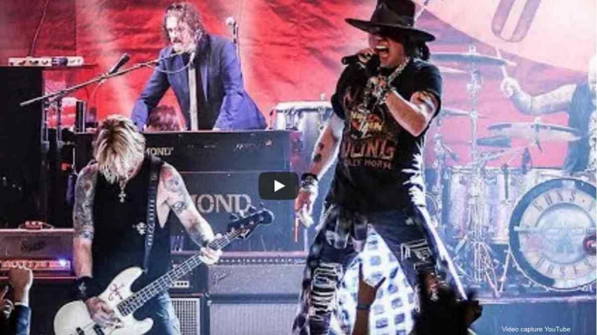 Guns N' Roses video still