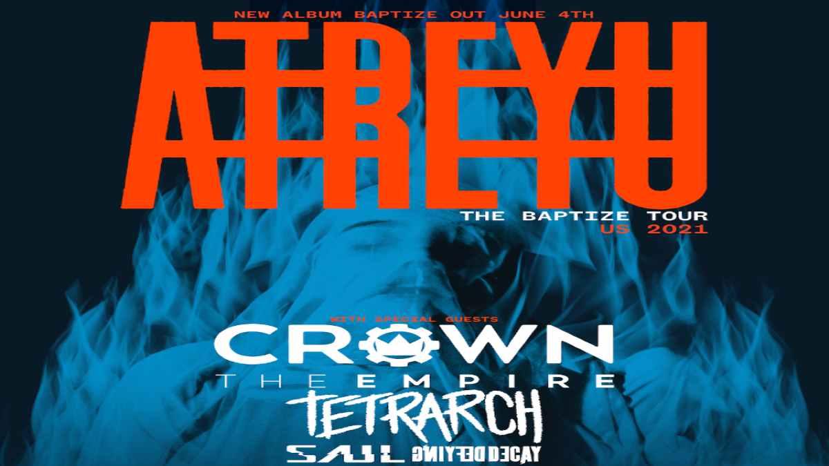 Atreyu tour poster