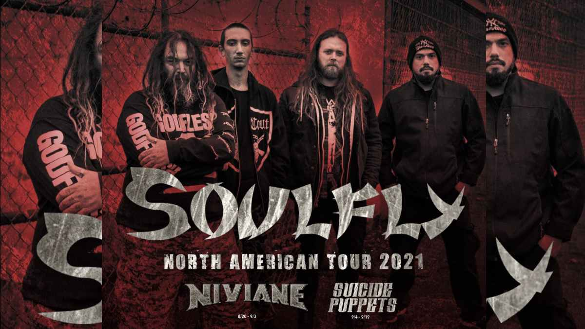 Soulfly tour poster