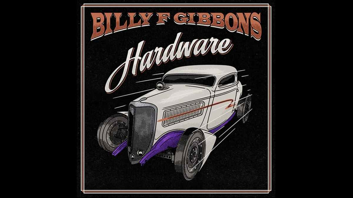 Billy F Gibbons cover art