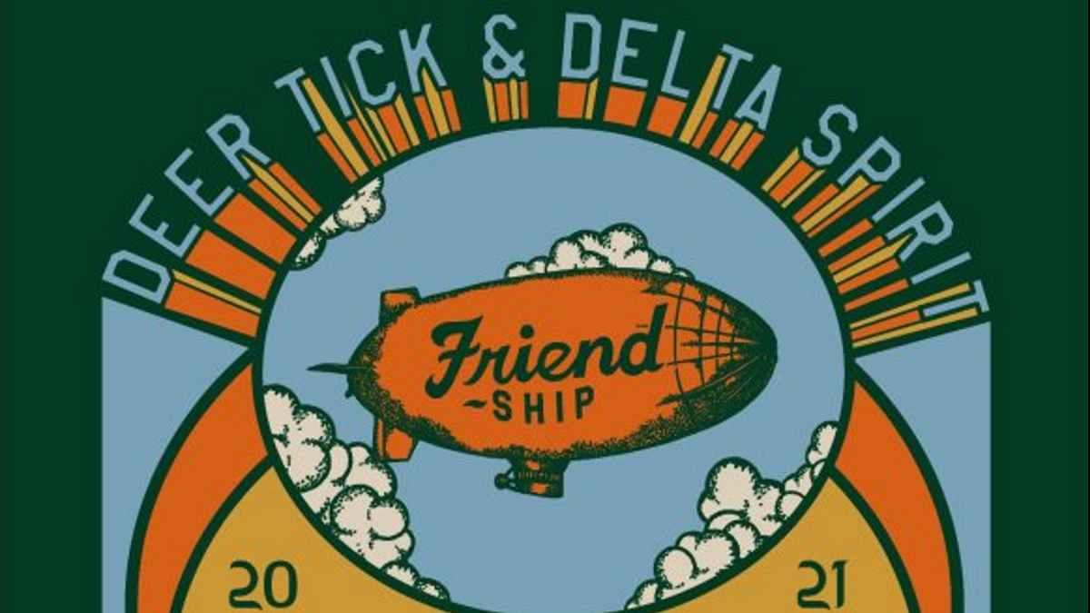 Deer Tick tour poster