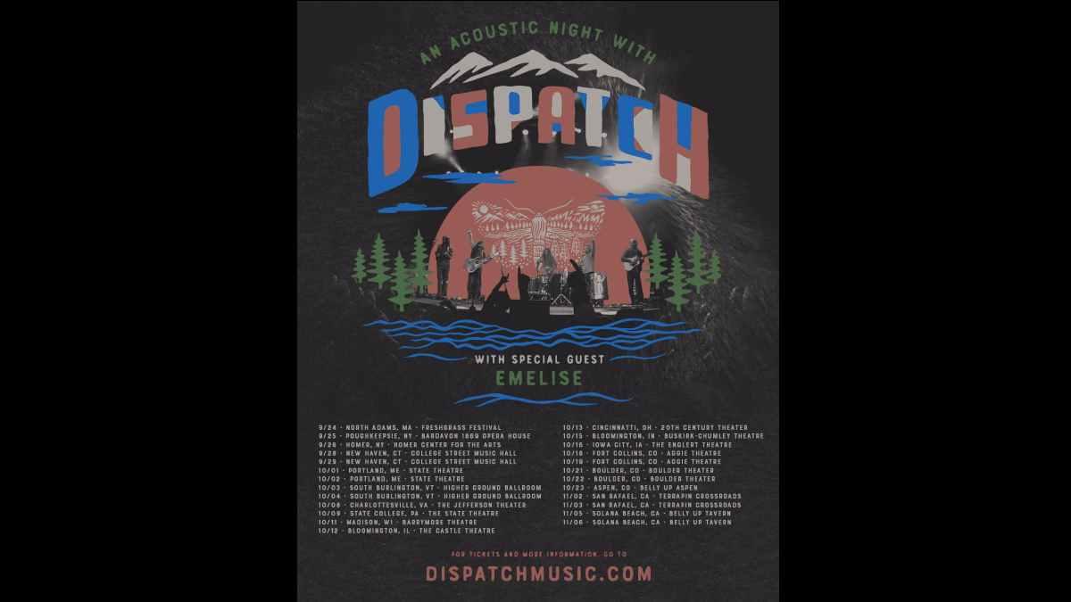Dispatch tour poster