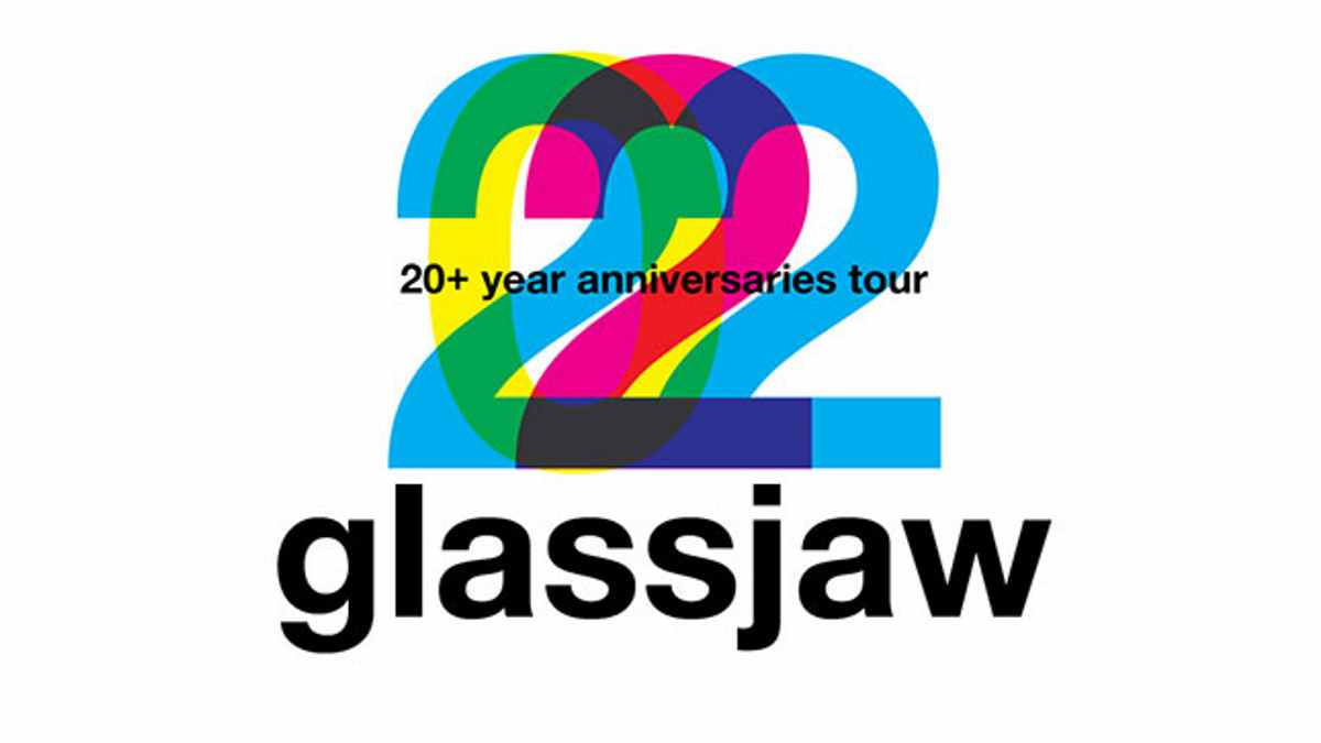Glass Jaw tour poster
