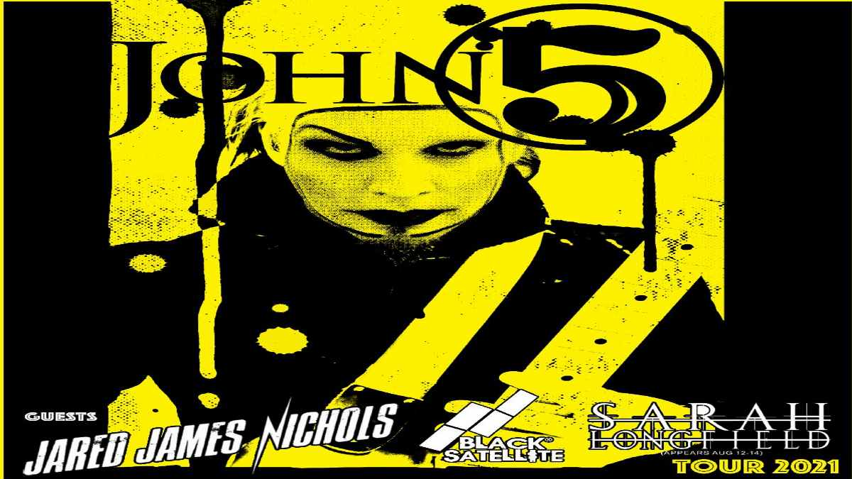 John 5 tour poster