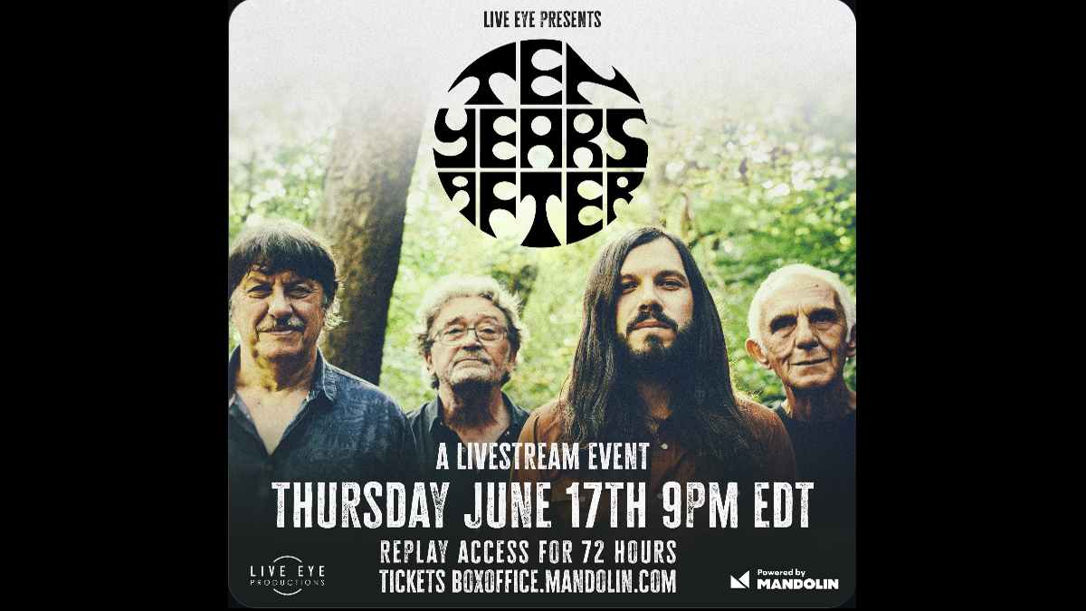 Ten Years After event poster