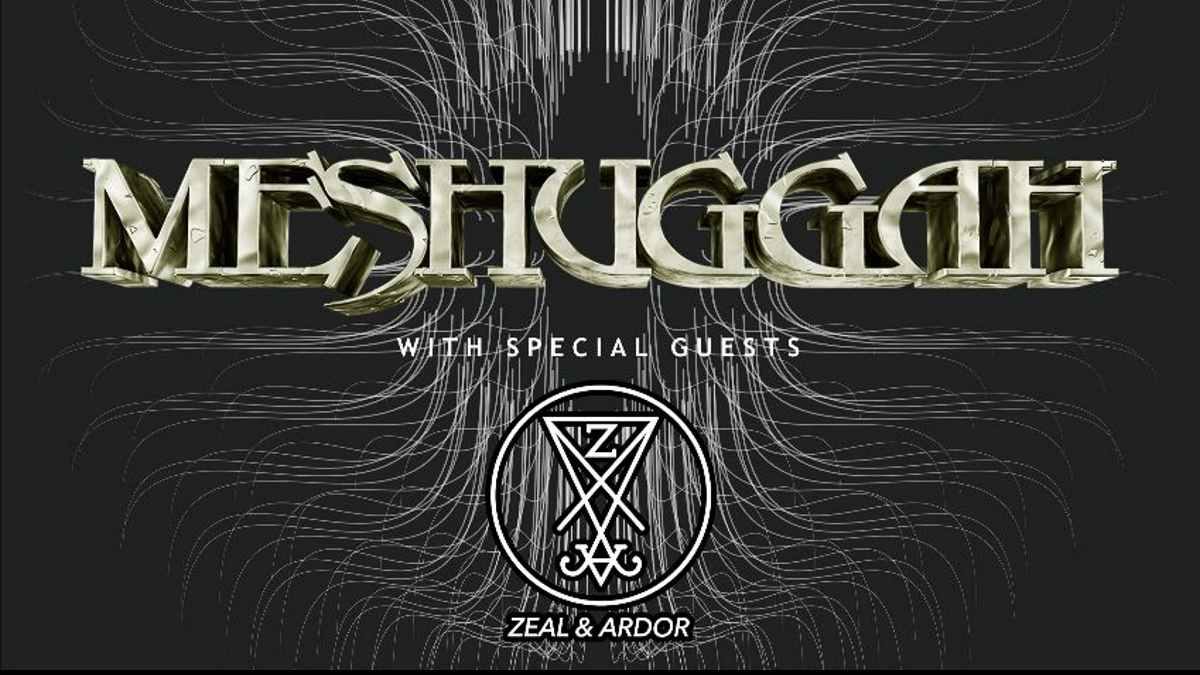 Meshuggah tour poster