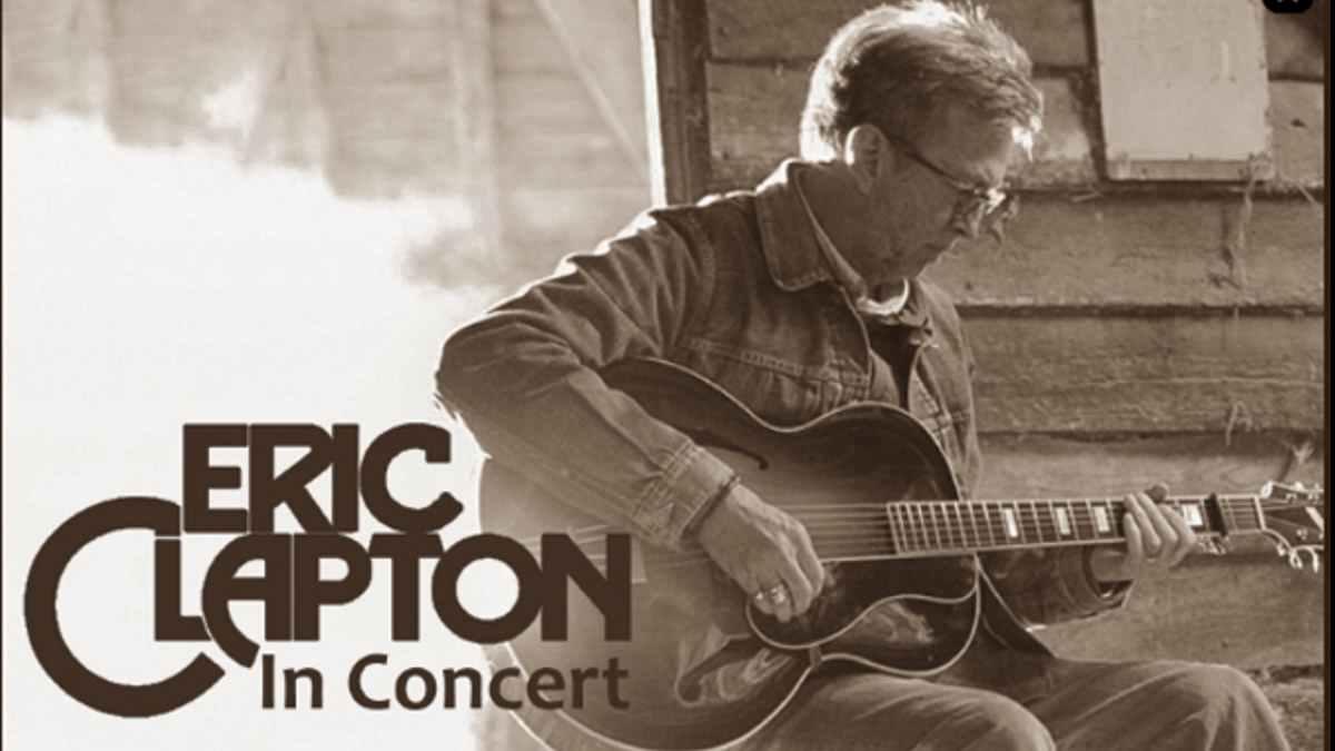 Eric Clapton Tour poster official website
