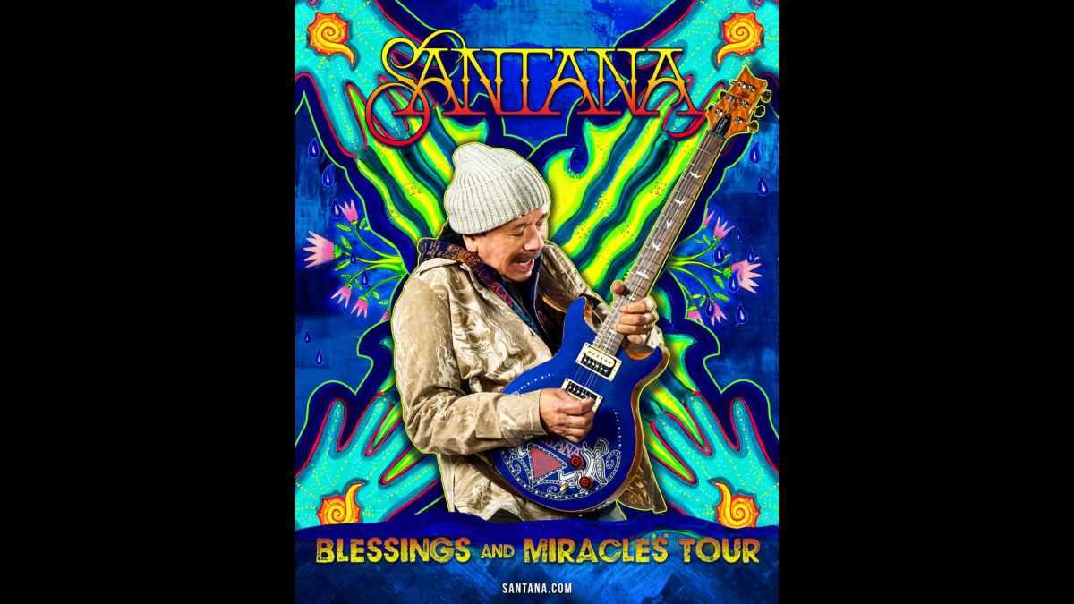 Santana tour poster