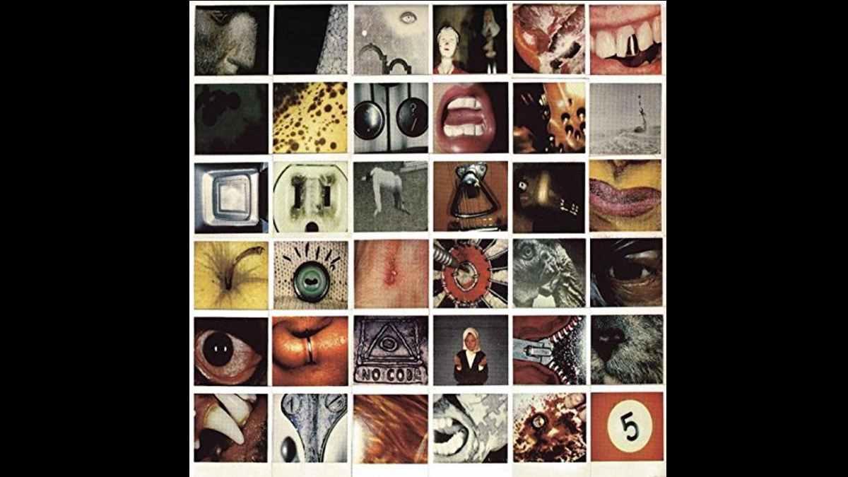 Pearl Jam original vinyl cover art