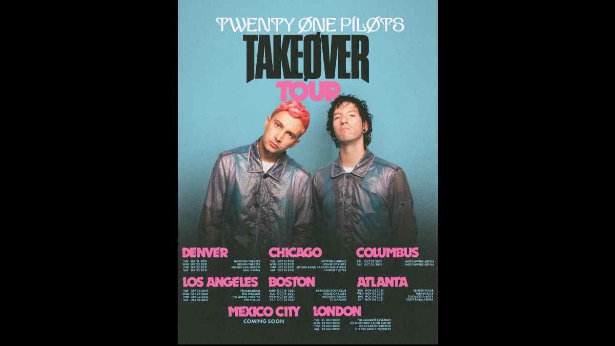Twenty One Pilots tour poster