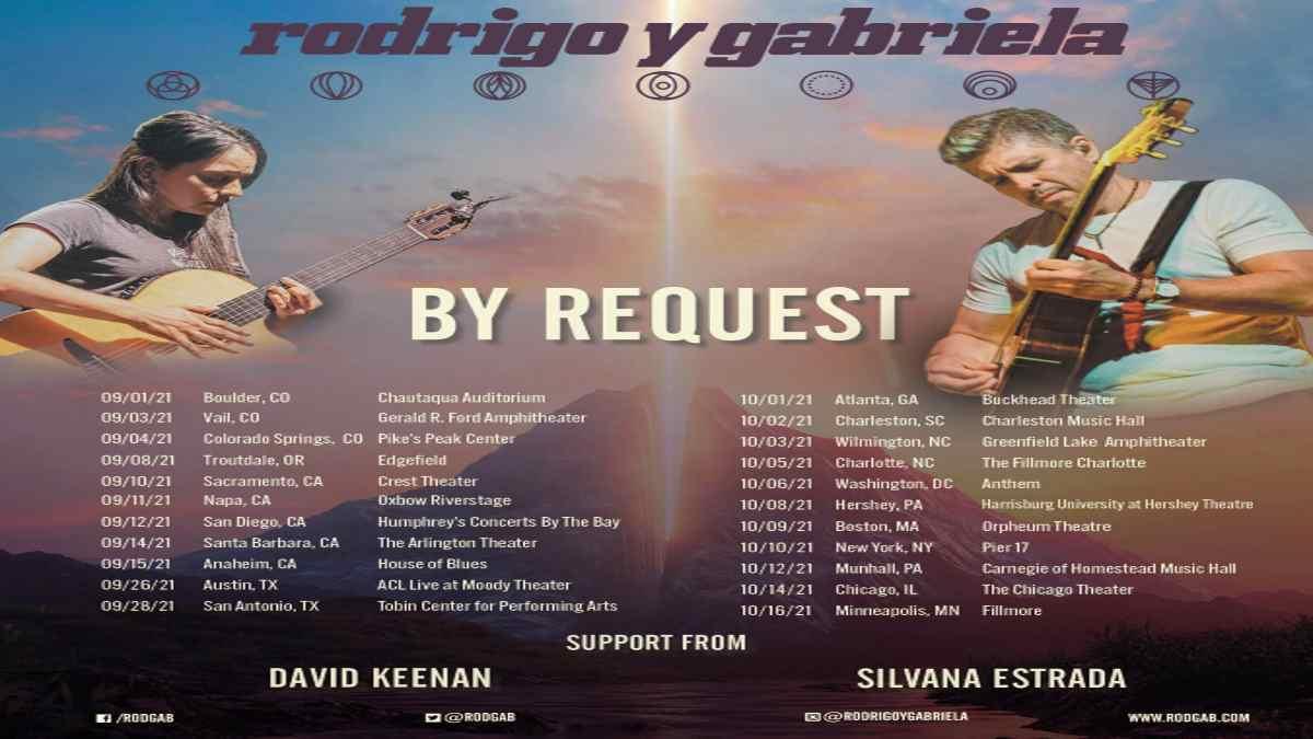 Rodrigo y Gabriela tour poster