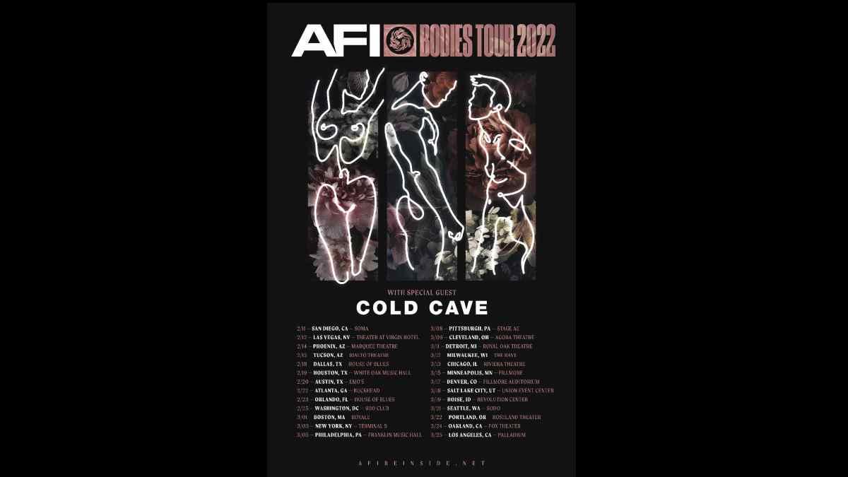AFI tour poster