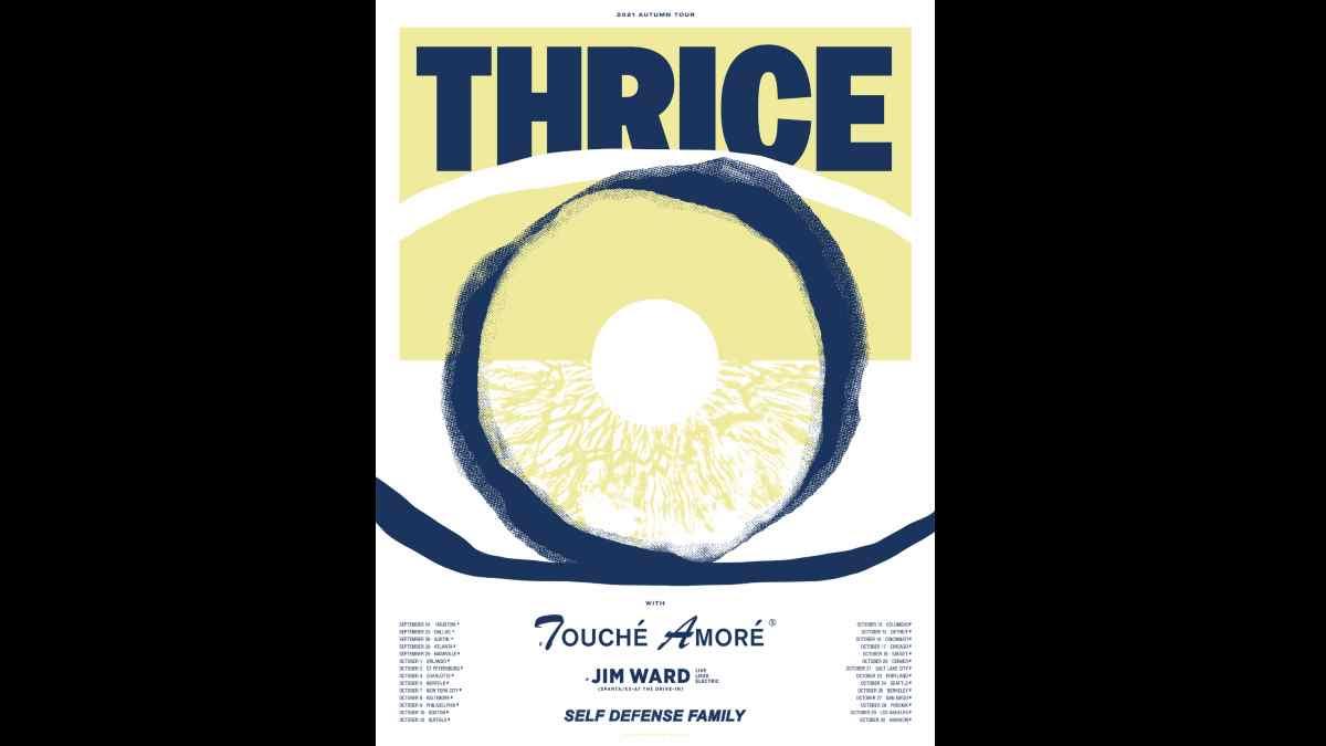 Thrice tour poster