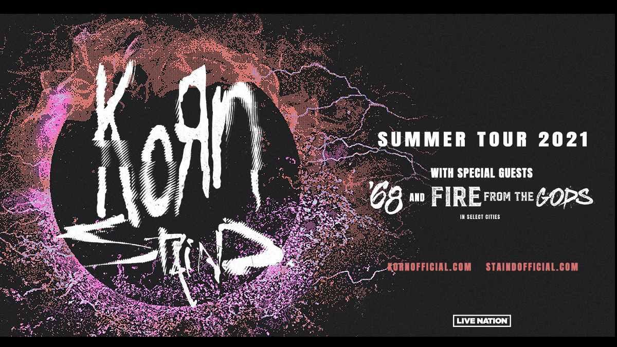 Korn tour poster