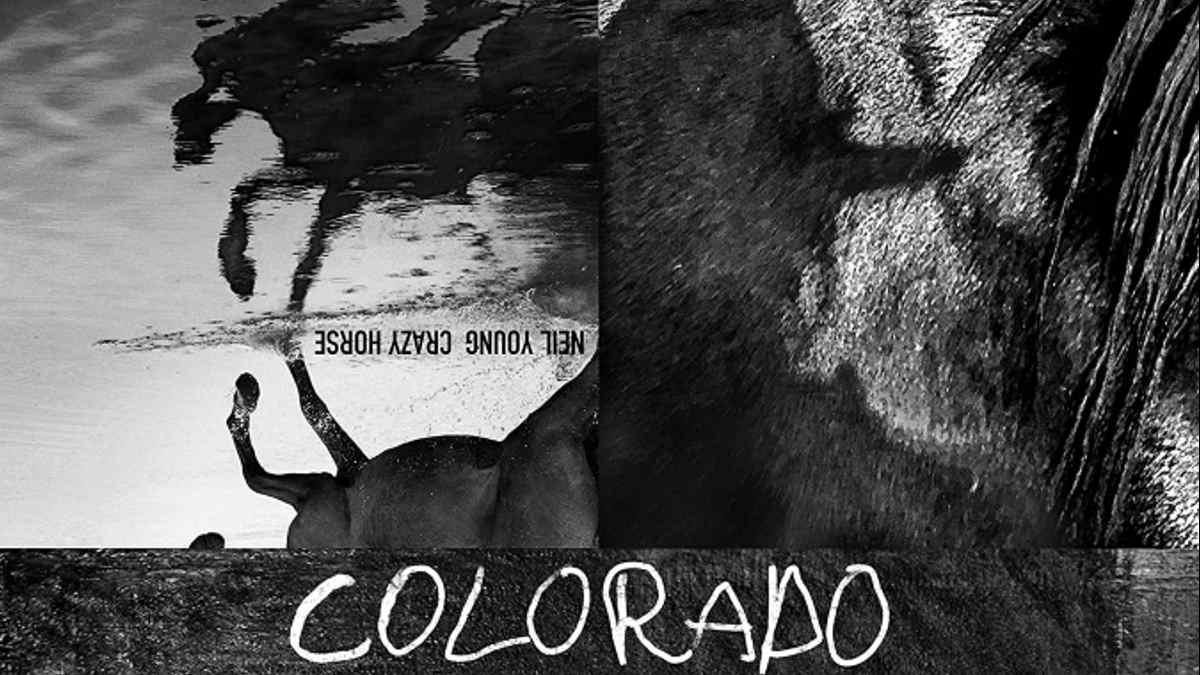 Neil Young 'Colorado' cover art