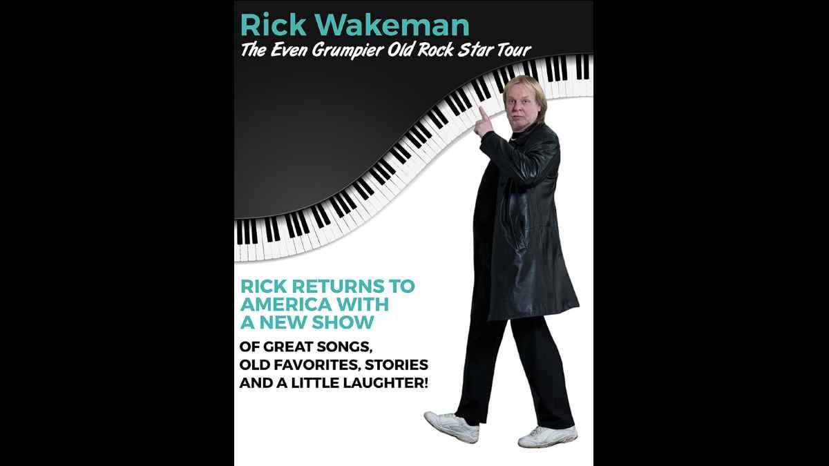 Rick Wakeman tour poster