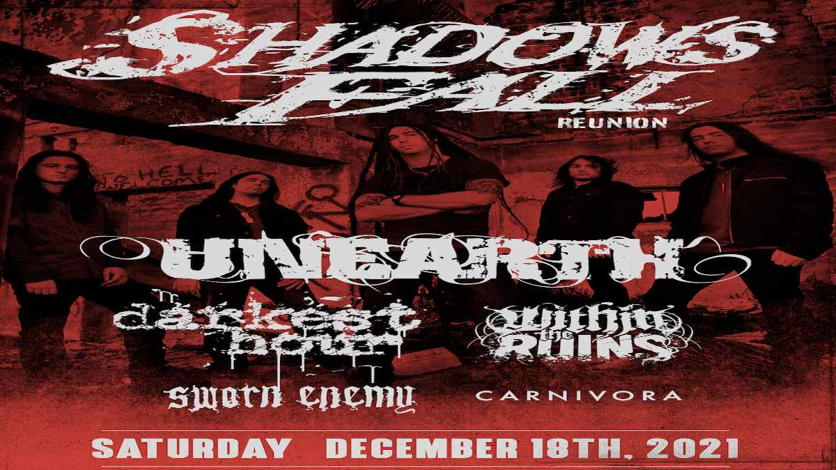Shadows Fall event poster