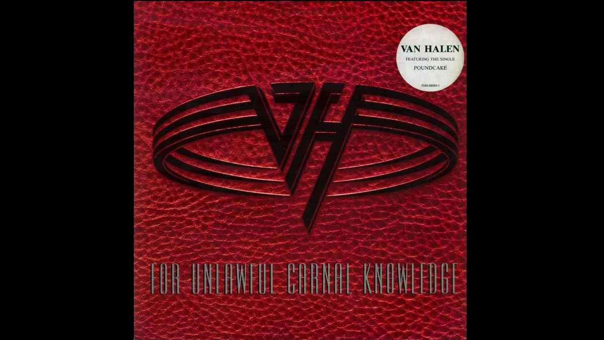 Van Halen vinyl cover art