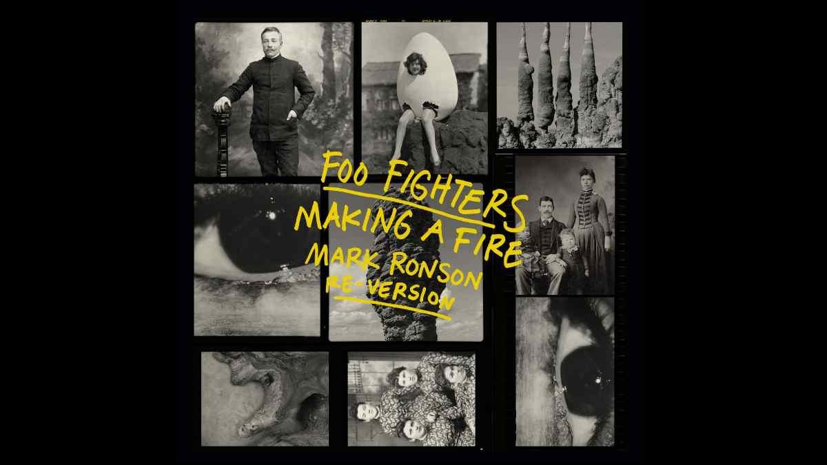 Foo Fighters single art