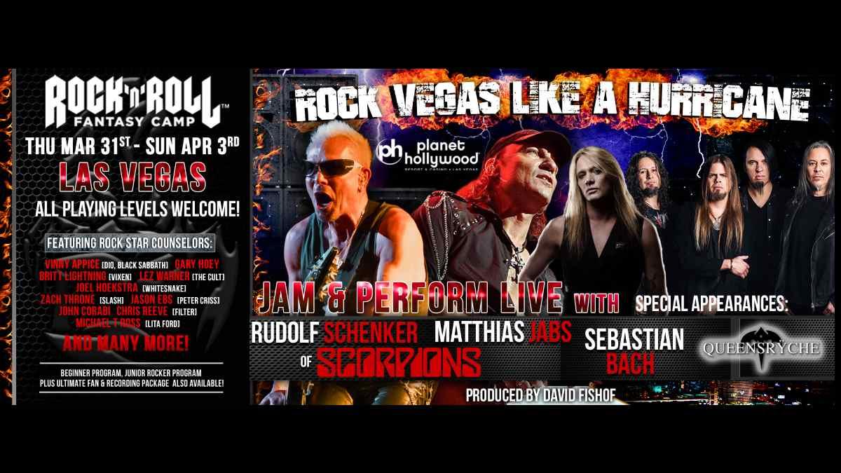 Scorpions event poster