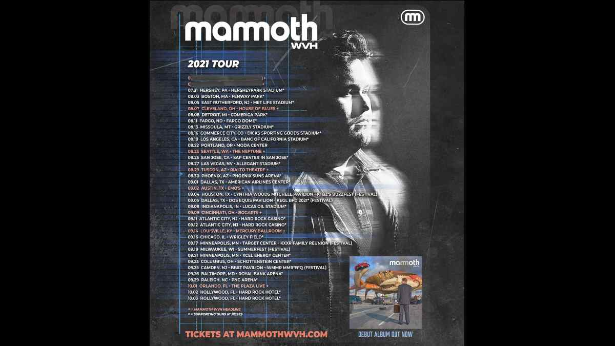 Mammoth WVH tour poster