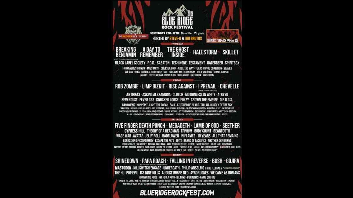 Five Finger Death Punch event poster