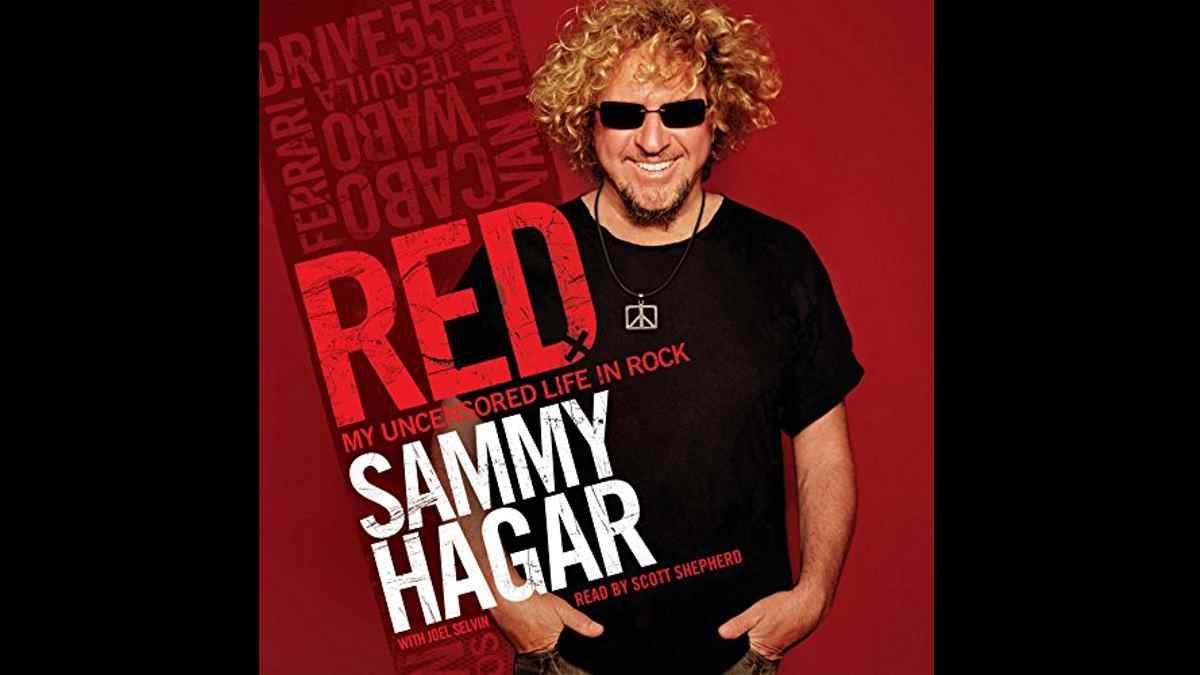 Sammy Hagar Red cover art
