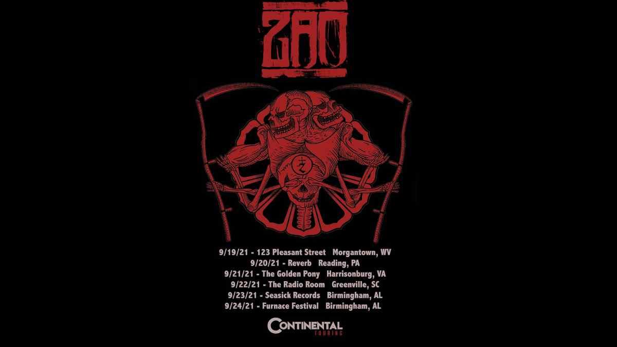 Zao tour poster