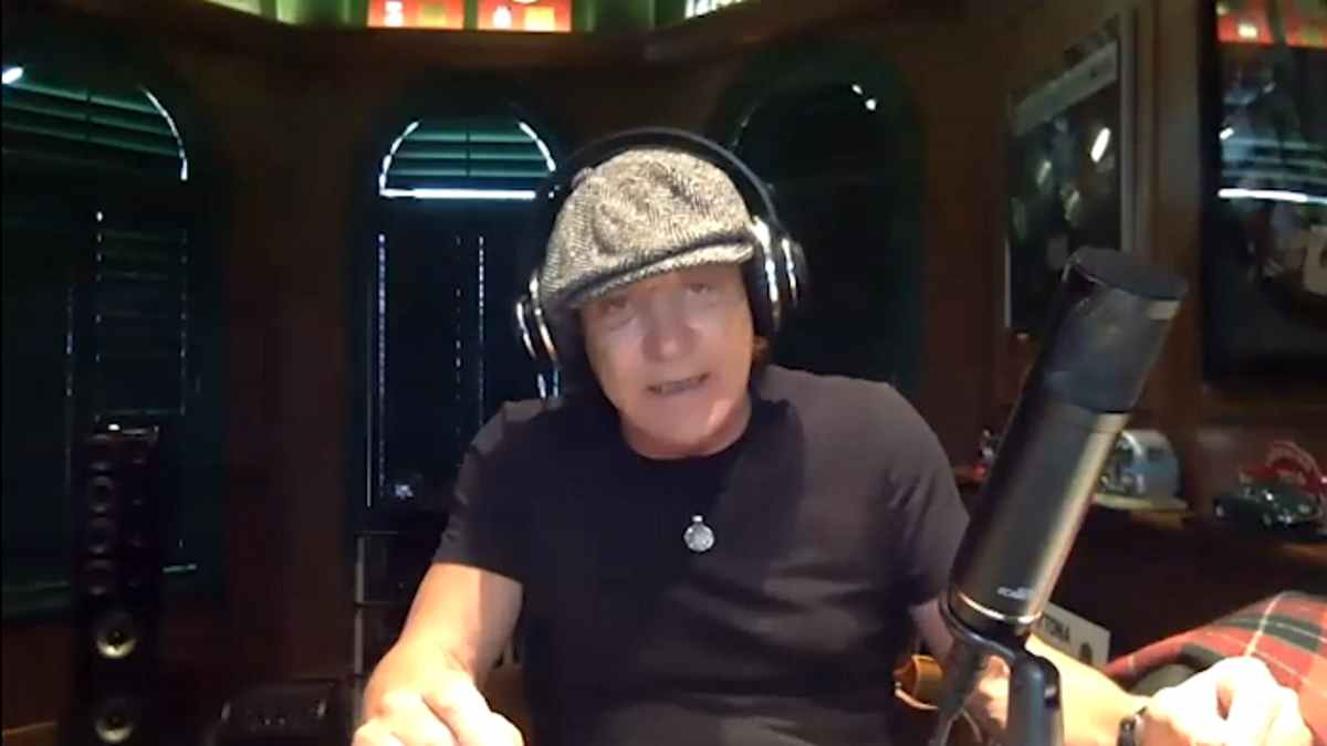 AC/DC interview video still