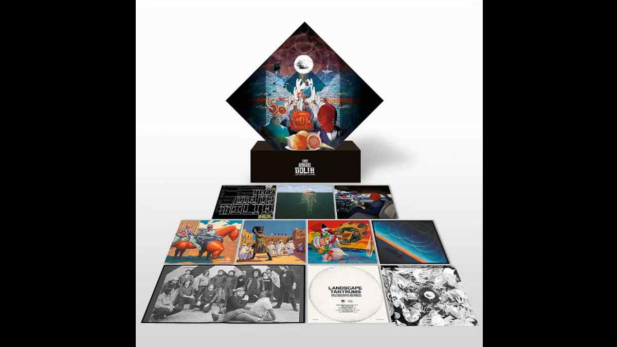 The Mars Volta box set promo image