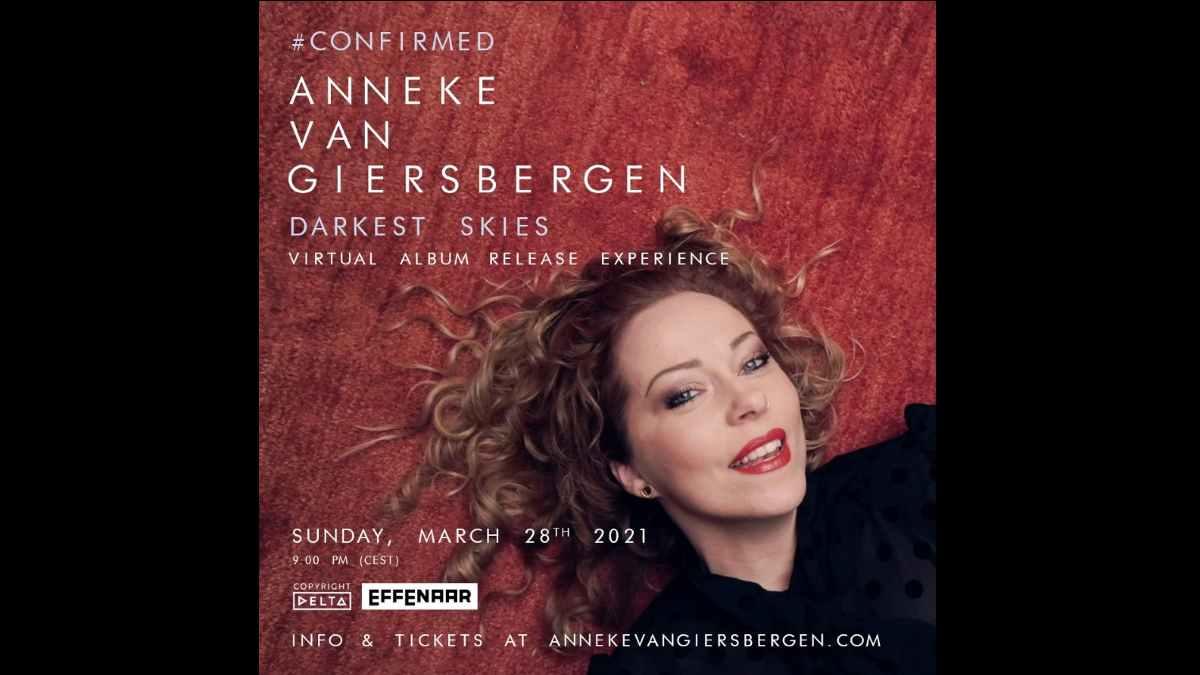 Anneke van Giersbergen event poster