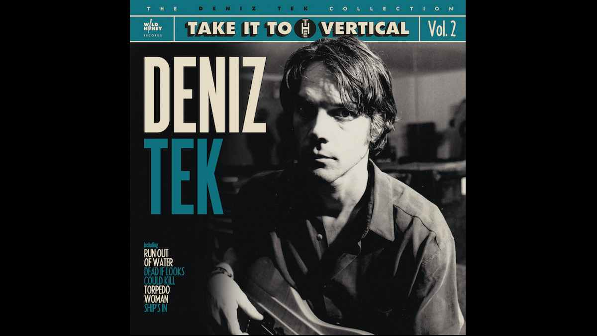 Deniz Tek album cover art
