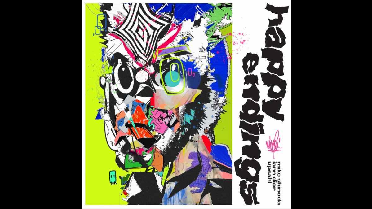 Mike Shinoda single art courtesy Warner Records