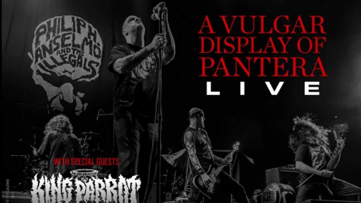 Pantera event poster