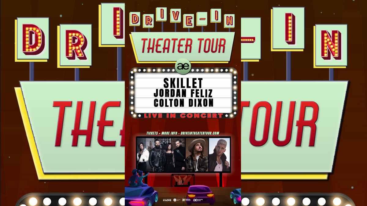 Skillet Tour poster courtesy Atom Splitter