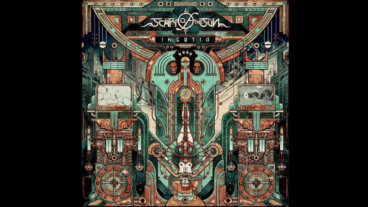 Scar Of The Sun album cover art courtesy Napalm Records
