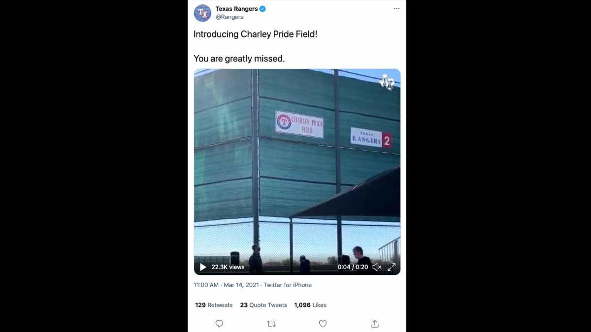 Charley Pride social media capture