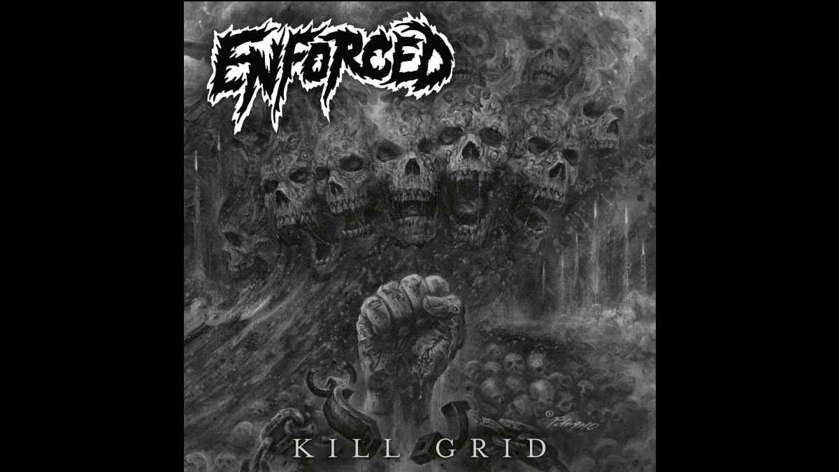 Enforced album cover art courtesy The Orchard