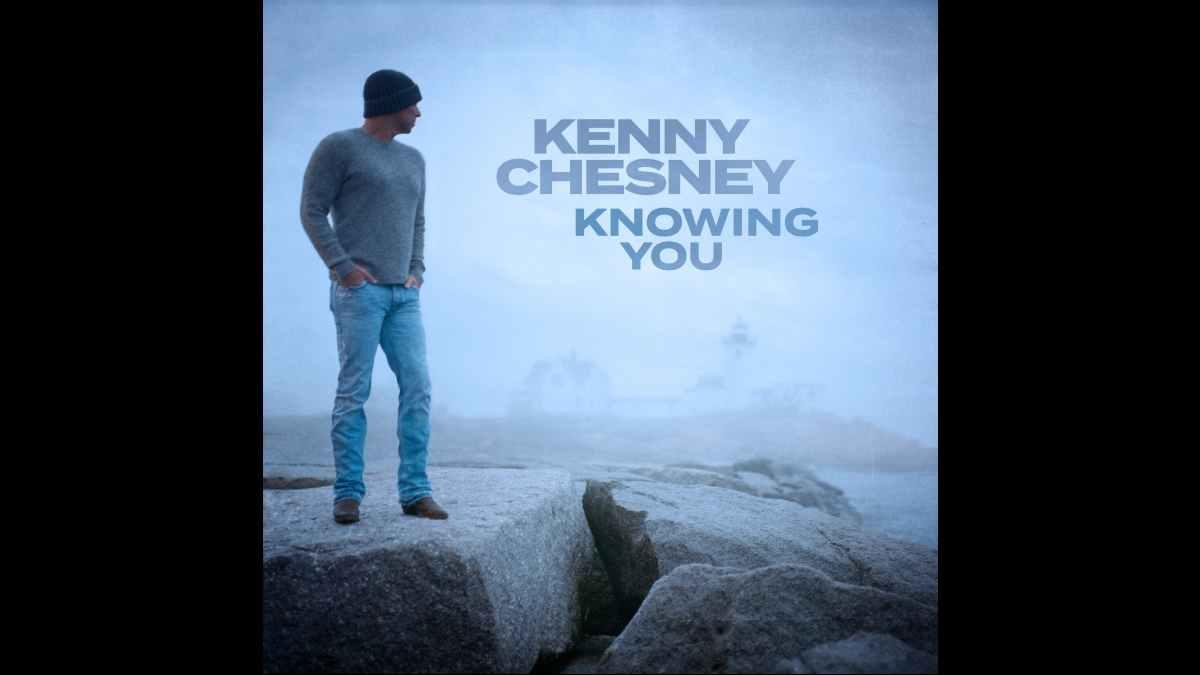 Kenny Chesney single art courtesy EBM