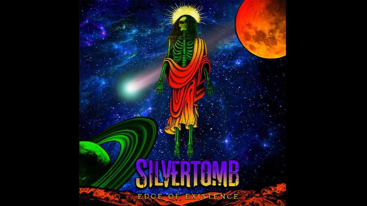 Silvertomb album cover art courtesy Freeman Promotions