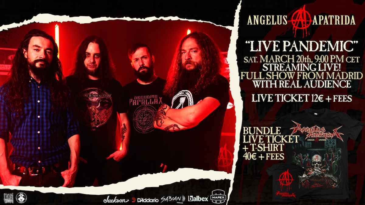 Angelus Apatrida event poster courtesy The Orchard
