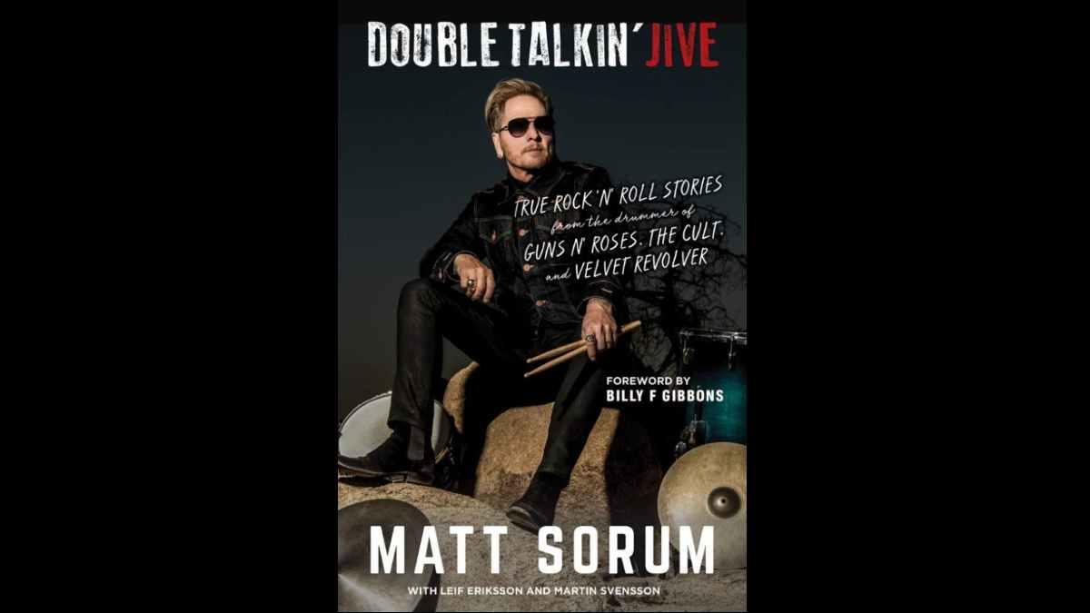 Matt Sorum book cover art